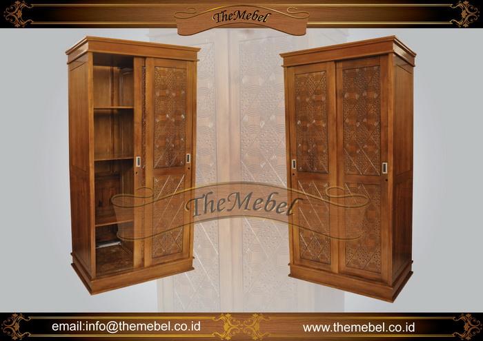 lemari pakaian sliding 2 pintu-004