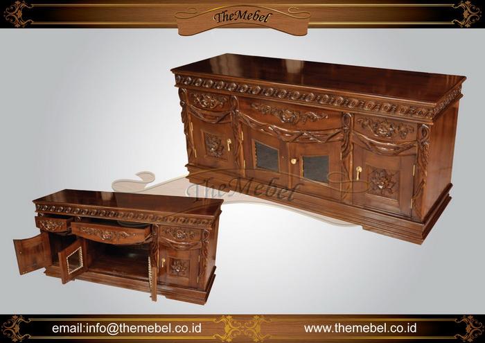 bufet kayu ukir minimalis-006