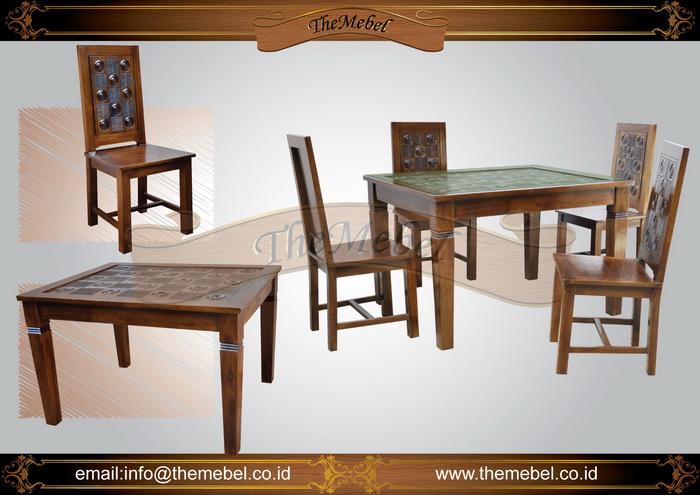 set meja makan minimalis 4 kursi 008