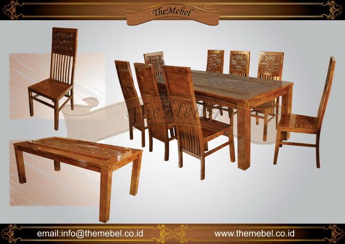 set meja makan minimalis 8 kursi 005