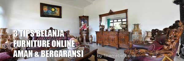 tips belanja furniture online